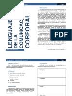 Manual Del Participante Lenguaje de La Comunicación Corporal (1-8)
