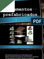 elemento prefabricados