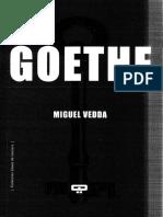 Vedda Miguel - Leer a Goethe