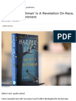 go set a watchman is a revelation on race not a disappointment   code switch   npr
