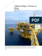 Oil and Gas Offshore Rigs