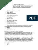 Evaluación diagnostica Marisol Lopez Osorio 1E
