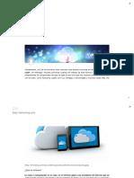 Qué Es La Nube - Cloud Computing