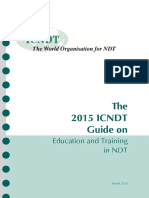 ICNDT Education 2015