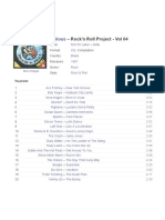 Various - Rock'n Roll Project - Vol 04 (CD)