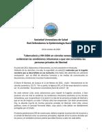 10 de octubre 18. Tuberculosis y VIH-SIDA en caìrceles venezolanas (1)