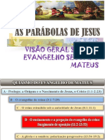 Parábolas de Jesus - Aula 10 - Overview Do Livro de Mateus