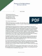 Congressional Letter to DOJ