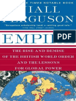 The RIse and demise of - niall ferguson