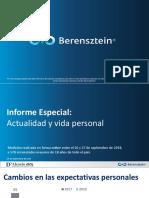 Informe Especial -Actualidad y Vida Personal - Septiembre 2018 - Berensztein