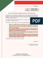 Escala de Sanciones Ambientales Para El Sector Industria - Vf