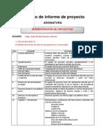 Adm Proy Formato Informe