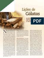 Liçoes de Gálatas