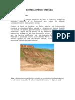 ESTABILIDAD DE TALUDES - INFORME.doc