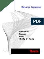 Pesómetro Ramsey Serie 10-20e o 10-22e