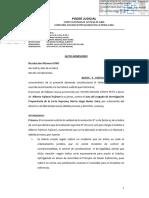 PJ Habeas Corpus Fujimori