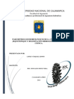Informe Presentado en Hidrogeologia Jequetepeque