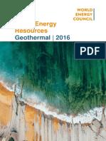 List Geothermal Energy
