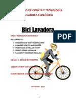 LAVADORA ECOLÓGICA