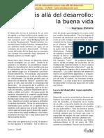 Esteva. Mas alla del desarrollo. La BuenaVida.pdf