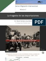 la tragedia de las deportaciones