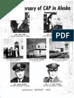 Alaska Wing - Annual Report (1973)
