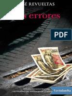 Los Errores - Jose Revueltas