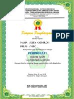 Piagam Siswa Berprestasi Semester 2 Tahun MTsN Bulungan Pelajaran 2017-2018.docx