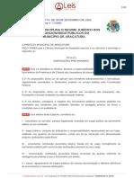 Lei Ordinaria Nº3774-1992 - Regime Jurídico Funcionários Municipais Araçatuba