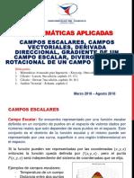 Campos Vectoriales y Escalares Clase 1