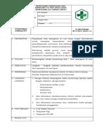 Sop.monitoring Penyediaan Obat Emergency Di Unit Kerja,Hasil Monitoring Dan Tindak Lanjut