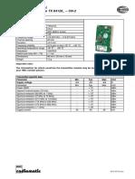 Technical Data Sheet RF Module TX64120 -CN-2 Rev02