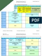 Unit 6 - Daily Schedule