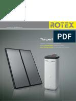 ROTEX Brochure Thermal Store Solar En