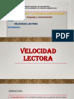 VELOCIDAD LECTORA.pptx
