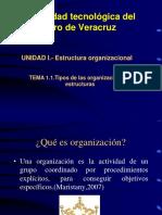 1.1 Estructura Organizacional