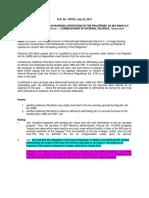 3.  ING Bank N.V. vs. CIR, 763 SCRA 359 (2015)