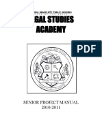 Senior Project Manual 10.11