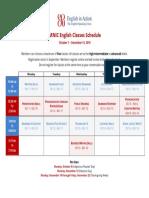 ARNIC English Classes Schedule Oct - Dec 2018 (1)