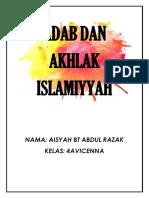 ADAB DAN AKHLAK ISLAMIYYAH.docx