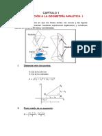 Geometria Analitica I