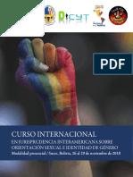 Convocatoria Jurisprudencia Inter. 2018