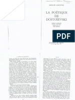 Bakhtin, Mikhail - Le dialogue chez Dostoievski chez La poétique de Dostoievski