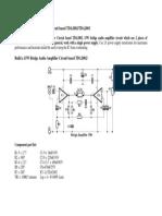 15W Bridge Audio Amplifier Circuit based TDA2002.docx