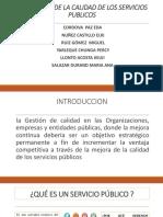 Diapositiva Exposicion Calidad de Servicios