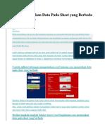Cara Memasukan Data Pada Sheet Yang Berbeda Dengan Macro