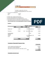 Process Costing Examples Matz Uzry