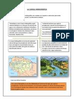La Cuenca Hidrográfica- Denys Osorio