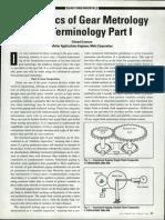 Basic of Gear Metrology