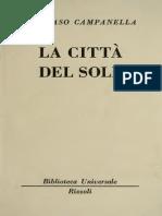 Citta del Sole - Tommaso Campanella